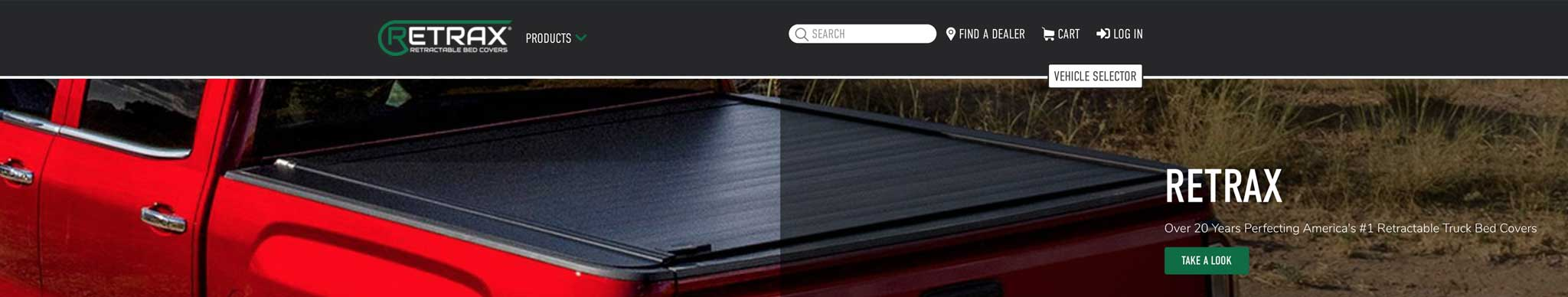 RETRAX - Retractable Truck Bed Covers